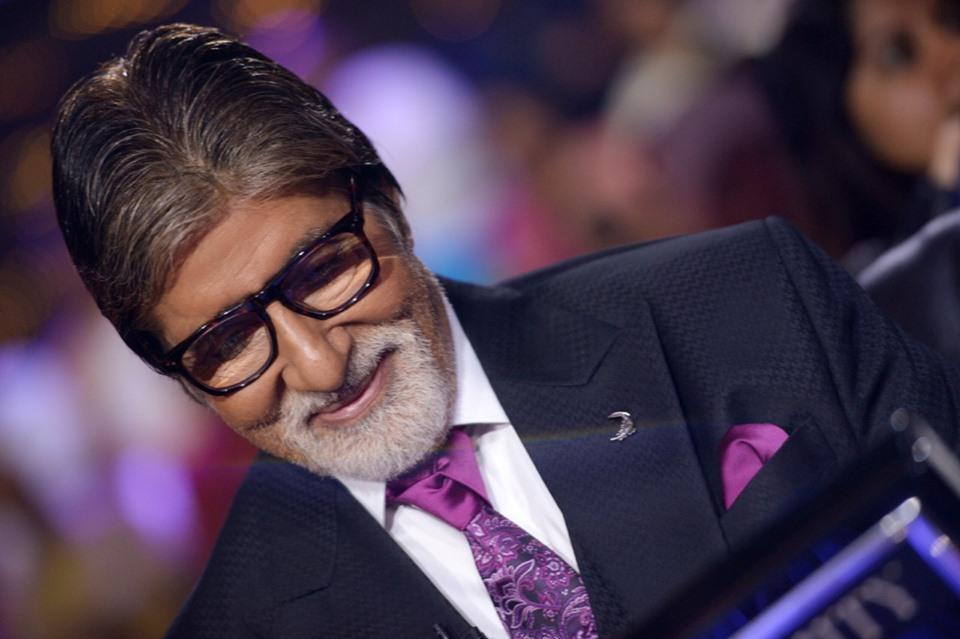 Amitabh Bachchan's Smile